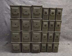 ( 24 Pack ) Combo 50 Cal / 308 Cal AMMO CAN EXCELLENT CONDITION * FREE SHIPPING*