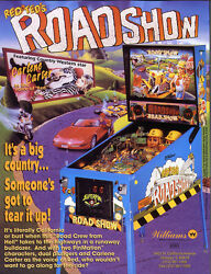 Roadshow Road Show Pinball Chip Upgrade L-6 Commercial