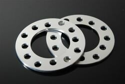 2 Cnc 3mm Wheel Spacers Adapters For Dodge Neon Stratus Avenger Stealth