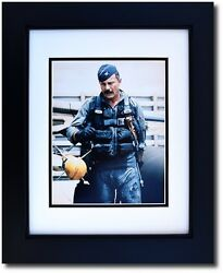 Framed 8 X 10 Photograph Of Gen. Robin Olds In His Flight Suit - Aviation Gifts