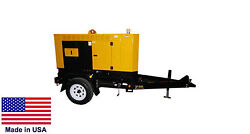 GENERATOR - Trailer Mounted - Diesel Fired - 25 kVA - 120240 Volts - 1 Phase