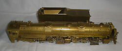 D And R.g.w Class L-105 4-6-6-4 Locomotive W/tender Ho Scale Brass Tested