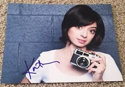 Kate Micucci Signed Autograph The Big Bang Theory 8x10 Photo B W/proof