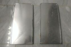 1964 1965 1966 Ford Thunderbird Galaxie Bucket Seat Cover Stainless Molding Set