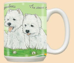 West Highland Terrier Westie Dog Ceramic Coffee Mug Tea Cup 15 oz