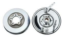 Chrome Front Brake With Drum For Harley 1936 - 1957 Knuckle Ul Pan Servi-car
