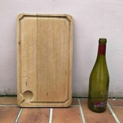 Antique Vintage French Bread Or Chopping Cutting Board Wood 1602172