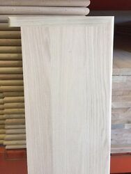 Solid Red Oak Wood Stair Treads 1 Thick X 11 1/2 Width - 36 42 48 54