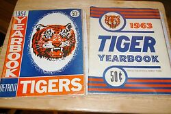 Detroit Tigers Memorabilia Media Guides, Yearbooks, Cain's Rounds, Books And More