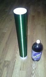 Green Tesla Coil Secondary 26awg 6 To 30 Wound On 3.5 Inch Outer Diameter Pvc