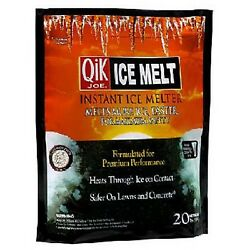 CASE OF FIVE BAGS = 10lb Bags Qik Joe 30510 Ice Melt  674454 X5