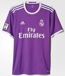 Adidas Real Madrid Official 2016 2017 Away Soccer Jersey