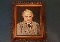 Oil On Board Presented To Lloyd George Pm - Dated 1928 W A Kennedy - Labelled