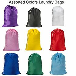 123 Pack Laundry Bag Heavy Duty Large Jumbo Nylon 30 x 40 Great for College