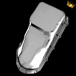 Oil Pan Pontiac For 326 350 400 428 455 Engines From 1959 - 1981 Chrome