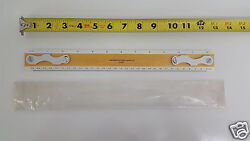 Nos Southern Photo Print And Supply Co Drafting Machine Scale Ruler 2460 Wood 12