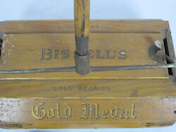 Antique Bisselland039s Cyco Ball-bearing Carpet Sweeper Gold Medal Vacuum