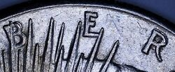 1922-s Machine Doubling Silver Liberty Peace Dollar 1 Us Coin Item 10417