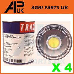 4l Yellow Tractol Paint Enamel For Agricultural Machinery John Deere Tractor