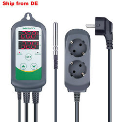 EU PLUG ITC-308 Temperature Controller thermostat heater fan thermocouple temp