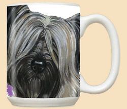 Skye Terrier Ceramic Coffee Mug Tea Cup 15 oz