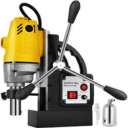 Md40 Magnetic Drill Press 1-1/2 Boring 2700 Lbs Magnet Force Tapping 1100w