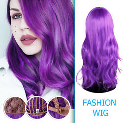 USA Stock 23'' Long Wavy Hair Wigs Cosplay Anime Party Daily Synthetic Full Wig
