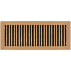 Copper Floor Register Vents - Plated Contemporary - 9 Sizes Available New