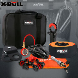 X-bull Winch Recovery Accessory Snatch Pulley Block Bow Shackle Kit 4wd Off-road