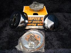 Nos 3573 Grant Steering Wheel Adapter/horn Kit- Fits 1963-1967 Mgb And Mgb Gt