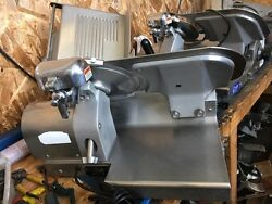 Globe 3500 Deli Meat Slicer With Sharpener Ready To Slice Your Meat Ss Top