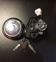Lock And Key Set Ignition Socket And Tank Cap For Keeway Superlight 125 Euro 4
