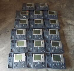 Lot Of 17 Cisco Ip Phones 7940 Series And 7942 And 7941
