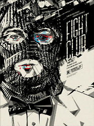 Fight Club Poster - Mondo - Ddl - Limited Edition Of 225