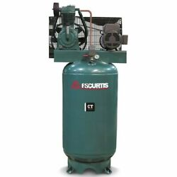 Fs-curtis Ct5 5-hp 80-gallon Two-stage Air Compressor 200-208v 3-phase