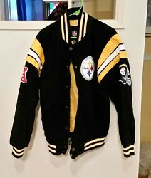 Awesome Steeler Jacket Suede Steeler Jacket Mens S And Terrible Towel
