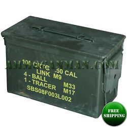 5 Pack 50 Cal ammo can-Grade 1