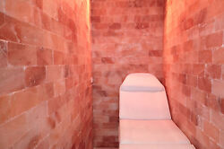 Himalayan Salt 4' x  4' Surface Area - 16 Sq feet Salt Sauna Cave Room Spa Detox