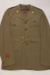 Ww2 Canadian Royal Montreal Regiment Officers Collars Tw Named Tunic Jacket