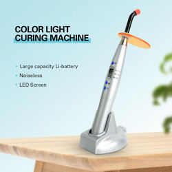 Dental Led Curing Light Lamp Composite Resin Cure Intensity 1500mw/c㎡ Noiseless