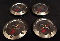 Racing Hart Evolution T10 Wheel Center Cap Jdm Set Of 4pcs New
