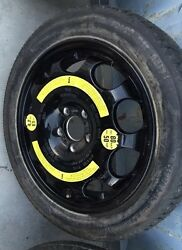 Bentley Continental Gt Spur Donut Temporary Spare Wheel Oem Tire T155/70r17