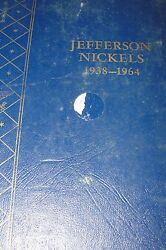 1938-1964 Jefferson Nickels Complete Set - 71 Coins