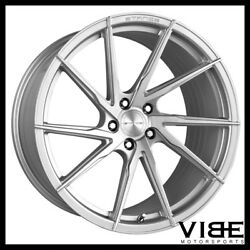 20 Stance Sf01 20x10.5 Silver Forged Concave Wheels Rims Fits Audi B8 A5 S5
