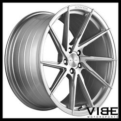 20 Stance Sf01 20x9 Silver Forged Concave Wheels Rims Fits Audi C6 A6