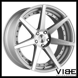 22 Vertini Dynasty Silver Concave Wheels Rims Fits Bmw F12 F13 M6 Coupe