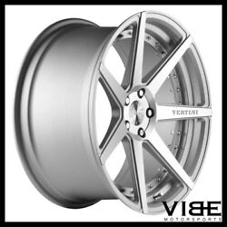 20 Vertini Dynasty Silver Concave Wheels Rims Fits Ford Mustang Gt Gt500