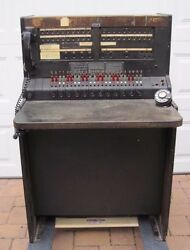 Vintage Antique Bell System Western Electric Telephone Switchboard Complete USA