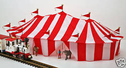 LGB Wilson Brothers Circus Scale 3 Ring Tent  Made in the USA NEW