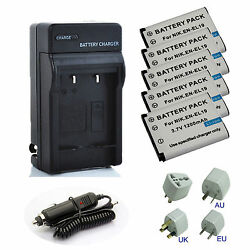 EN-EL19 ENEL19 Battery / Charger for Nikon Coolpix S33 S2900 S3700 S7000 Camera